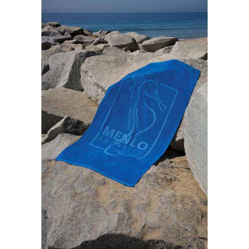 Platinum Collection Heavyweight Colored Beach Towel (Screen Print)