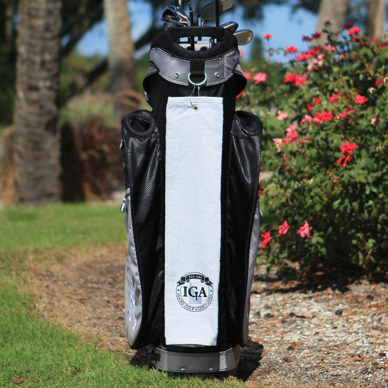 Diamond Collection Golf Towel w/ Tri-Fold Grommet (Embroidery)