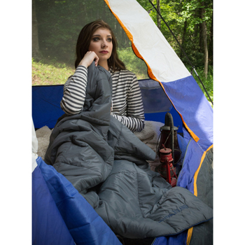 HOT DEAL - The Camper Blanket with Tote Bag