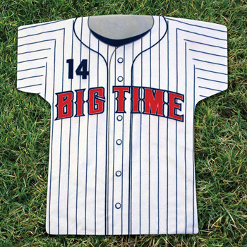 Baseball Jersey Shaped Rally Towel