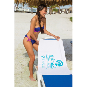 Pro 1 Select Small White Beach Towel