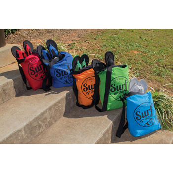 Sand Repellent Beach Bag (Embroidered)